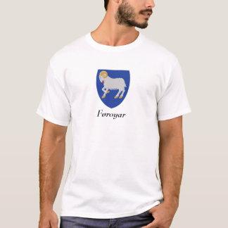 Camiseta Føroyar - brasão de Faroe Island