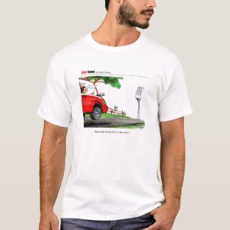 Camiseta Forquilha na estrada
