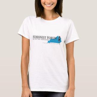 Camiseta Fórum do humanista do t-shirt leve cabido KY