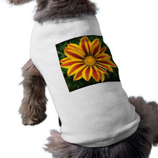 Camiseta Foto alaranjada bonita da flor de Sun