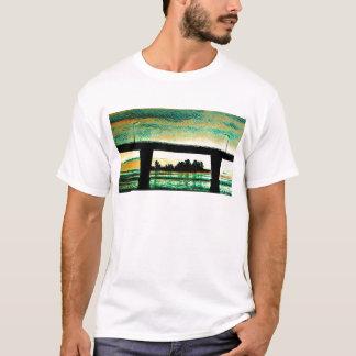 Camiseta Foto da arte a ponte à ilha de St Joseph