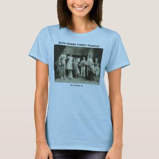 Camiseta Foto e lista de verificação da reunião de família