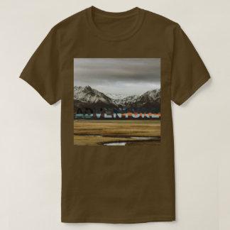 Camiseta Foto exterior da aventura do oceano da montanha