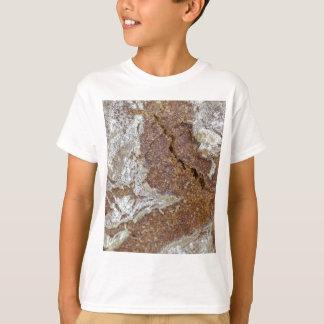 Camiseta Foto macro da superfície do pão de mistura de Ger