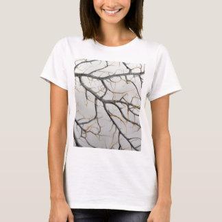 Camiseta Foto macro de um coral gorgonian seco