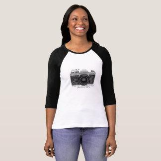Camiseta Fotografia da câmara escura de KHS 3/4 de t-shirt