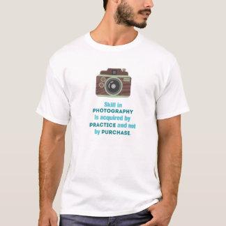 Camiseta Fotografia da prática
