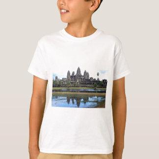 Camiseta Fotografia do viagem do templo de Angkor Wat