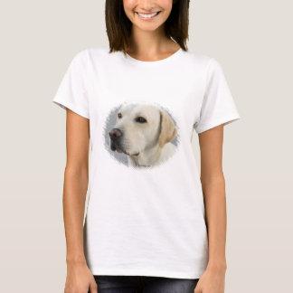 Camiseta Fotografia dourada de labrador retriever