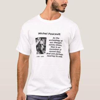 Camiseta Foucault, arqueologia do homem