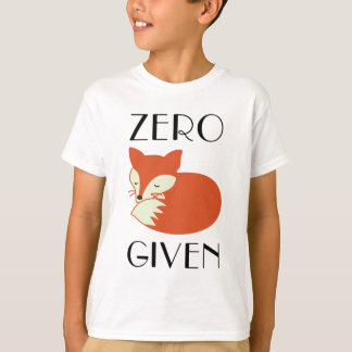 Camiseta Fox zero dado