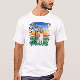 Camiseta Foxhound americano - fulgor de Sun