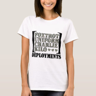 Camiseta Foxtrot os desenvolvimentos