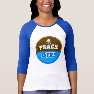 Camiseta FRACK FORA! - fracking/poluição/activista/protesto