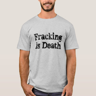 Camiseta Fracking é morte