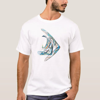 Camiseta Fractal - Angelfish