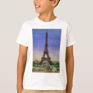 Camiseta france-Paris-Eiffel-torre-roupa