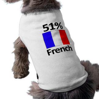 Camiseta Francês de 51%