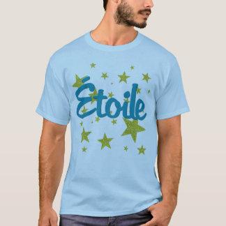 Camiseta Francês de Etoile com estrelas