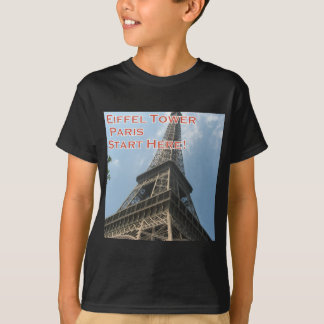 Camiseta Francês do verão 2016 de Paris France da torre