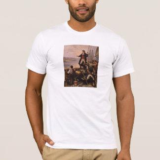 Camiseta Francis Scott Key - pintura da bandeira star