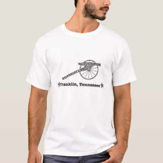 Camiseta Franklin, Tennessee - batalha de Franklin