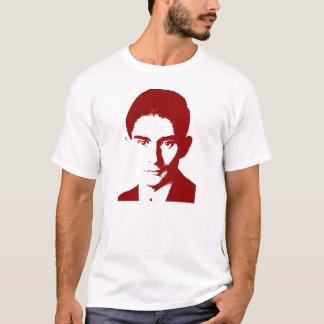Camiseta Franz Kafka vermelho