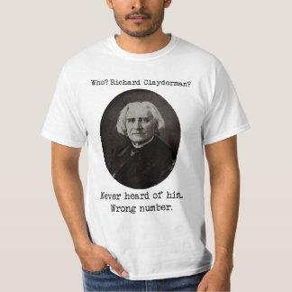 Camiseta Franz Liszt