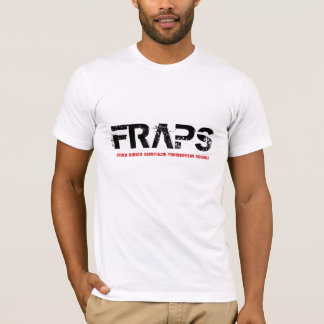 Camiseta FRAPS, sociedade Paranormal analítica de Front