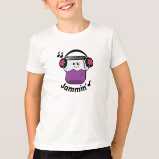 Camiseta Frasco do doce de Jammin com t-shirt do