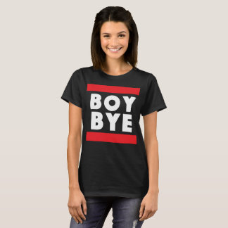 Camiseta frase bonito engraçada do adeus do menino sassy
