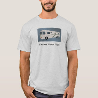 Camiseta Fraseio do campista rv Motorhome