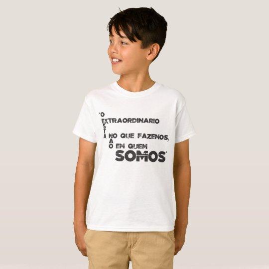 Camiseta Frases de filmes e games