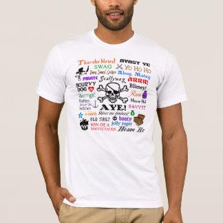 Camiseta Frases do pirata
