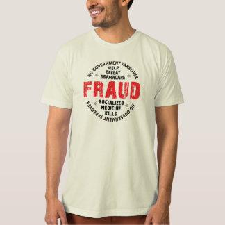 Camiseta Fraude de Obamacare