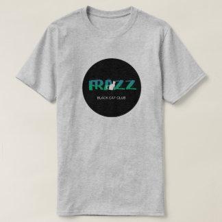 Camiseta FRAZZ! T-shirt do logotipo do clube do gato preto