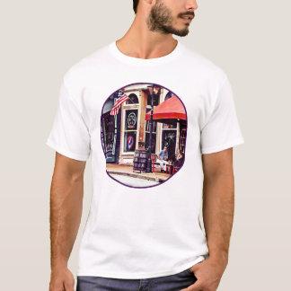 Camiseta Fredericksburg VA - Café exterior