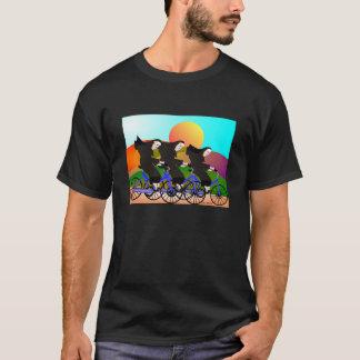 Camiseta Freiras em presentes da arte das bicicletas