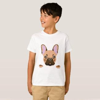 Camiseta Frenchie para miúdos