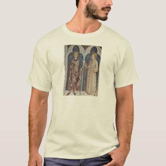 Camiseta Fresco com cenas da vida de St Martin