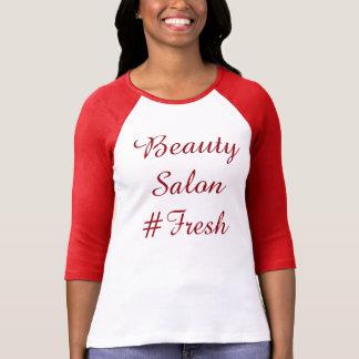Camiseta #Fresh do salão de beleza