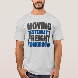 Camiseta Frete de ontem movente amanhã (estrada de ferro)