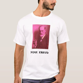 Camiseta Freud cor-de-rosa