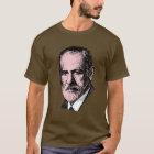 Camiseta Freud cor-de-rosa Sigmund Freud