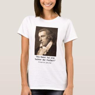 Camiseta Friedrich Schiller: Der Freiheit de Kunst - de