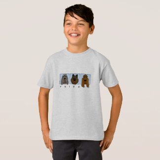 Camiseta Friends: Spinone Italiano, Tervueren, Bloodhound