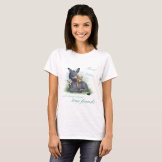 Camiseta Friendship Shiba Donkey Inu &