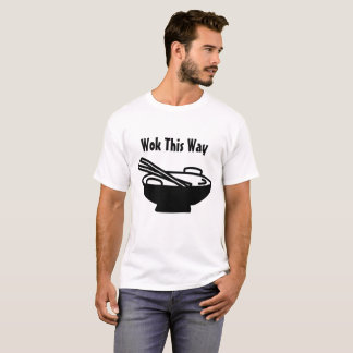 Camiseta Frigideira chinesa esta maneira