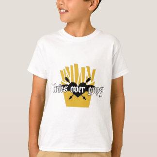 Camiseta Fritadas sobre o slogan das caras