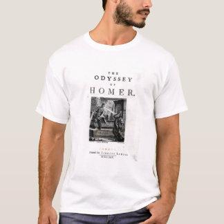 """Camiseta Frontispício para """"a odisseia"""" pelo local"""